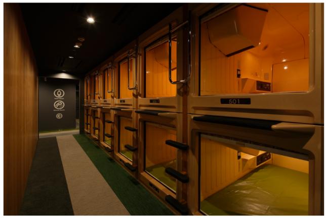 新宿東口 歌舞伎町 Booth ノマド コワーキングスペース カプセルホテル
