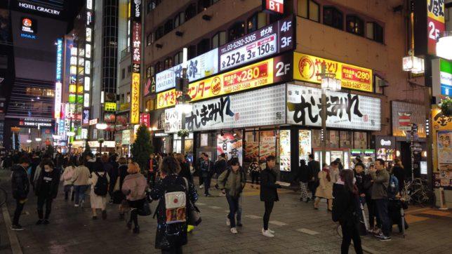 歌舞伎町 すしまみれ