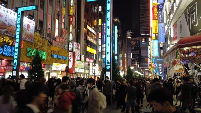 歌舞伎町 ゴジラロード