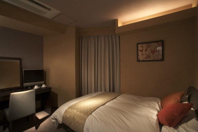 早朝便のおすすめした蒲田のサウナにはちゃんと客室がある